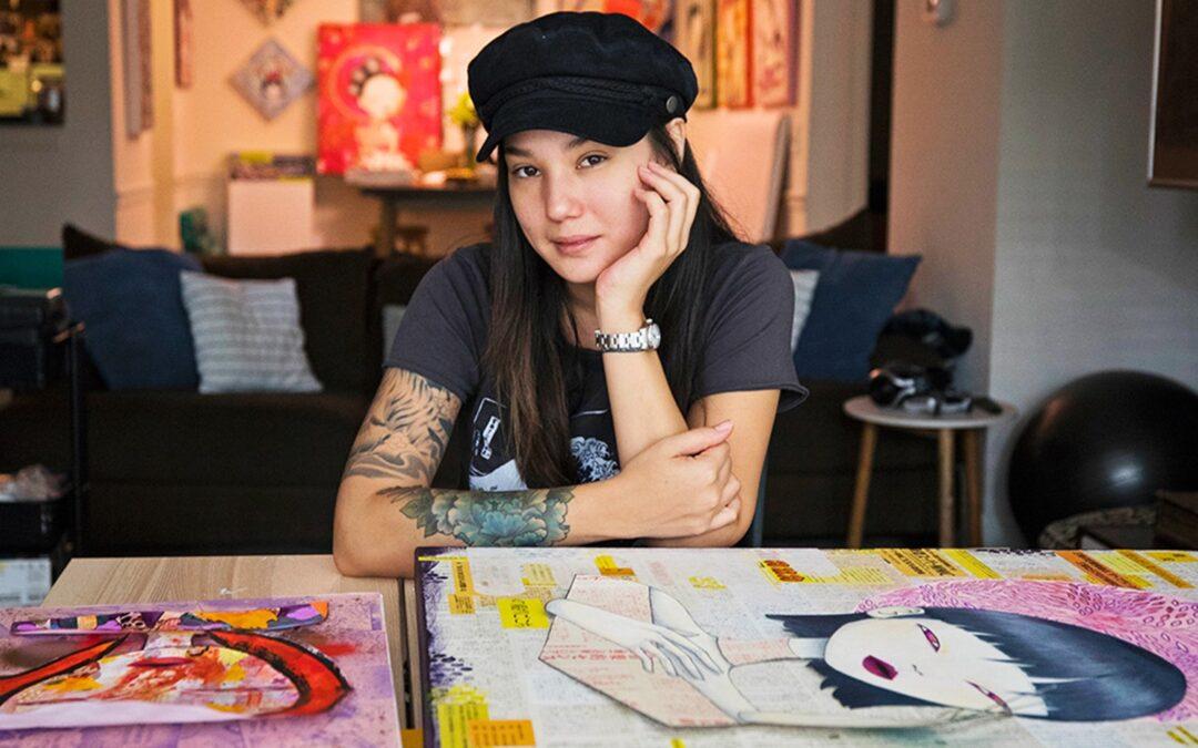 Artist Elena Øhlander - The Path to Authenticity