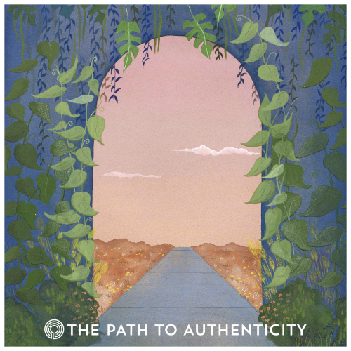 100th Episode Artwork by Heather Sundquist Hall - The Path to Authenticity